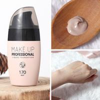 Crème de teint pour le visage Imperméable de longue durée 30ML Correcteur de longue durée Maquillage professionnel Maquillage à couverture totale Base mate Maquillage
