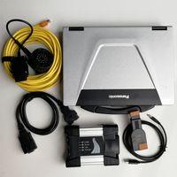 Strumento V06.2021 per BMW ISTA Set completo Pronto per l'uso ICOM Next 720GB SSD + CF52 Computer portatili usati Diagnosi Scanner Automobili Strumenti diagnostici