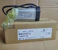 1pc New Panasonic Servo Motor MHMJ042P1U Um ano de garantia