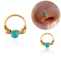 12 milímetros moda retro frisado anel de nariz Narina Hoop Body Piercing Jewelry Septo Clicker Nariz Anel Lip Tragus Piercing