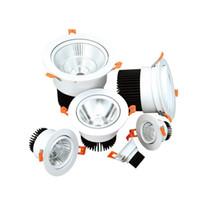 عكس الضوء LED أسفل ضوء 3W 7W 18W 30W بقعة ضوء 220V 110V الدافئة / الباردة الأبيض LED تعطل أسفل الضوء على مطبخ غرفة نوم