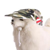 2019 الصيف كلب لطيف الطباعة قبعة بيسبول قبعة كلب صغير في الهواء الطلق الحيوانات الأليفة الاستمالة الكلب قبعة الحيوانات الأليفة الملحقات للكلاب القطط
