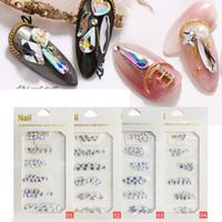 Nagelzubehör Strasssteine Steine AB Farbe Strass Unregelmäßige Perlen für Nägel Kunst Dekorationen Kristalle