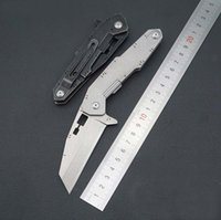 Best Selling High Hardness Folding Knife D2 Stone Washing Bl...