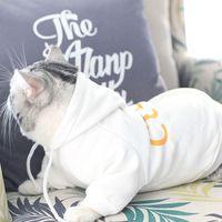 Vêtements pour chien pour petits chiens Épaissir coton Sweats à capuche pour veste de bouledogue français Cat Fashion pour Chihuahua Outfit Pet Costume PC0699 T200101
