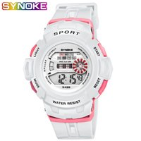 SYNOKE Watch for Kids Bambini Bambini Digital Watch Outdoor Sports Week Display Allarme Auto Date Ragazzi Orologi Retroilluminazione
