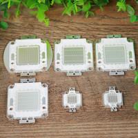 Chip de LED de alta potencia 10W 20W 30W 50W 100W RGB Rojo Verde Azul SMD luz del grano CRESTECH