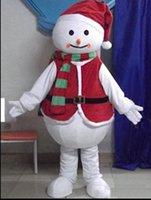Descuento 2019 venta de fábrica Material de EVA Muñeco de nieve de Navidad Trajes de la mascota Unisex de dibujos animados Ropa