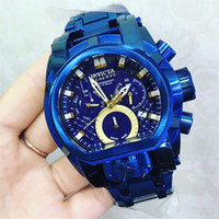 For Dropshipping Men' s INVICTA Brand 52mm Dial Diameter...