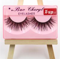 Vison 3D faux cils longs et épais vison naturel Cils à la main faux cils yeux cosmétique maquillage outils 33 styles RRA1070