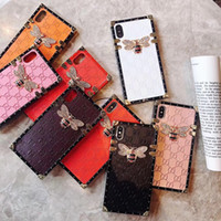 wholesale retail luxury designer phone cases For iphone X XR...