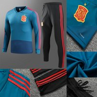 Camisetas Spain Maillot de foot Spain soccer tracksuit sweat...
