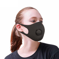 Disposable Face Mask with Breathing Valve Earloops Anti Dust...