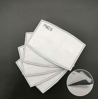 디자이너 마스크 필터 5 레이어 마스크 활성탄 필터 - 입안에 대한 보호 기능