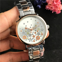 팔찌 손목 시계 꽃 숙녀 드레스 전체 다이아몬드 시계 여성 시계 시계 럭셔리와 브랜드 골드 손목 시계