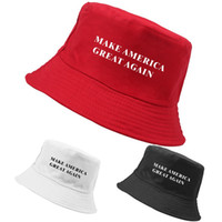 Fashion Travel Fisherman Hat Make America Great Again Letter...