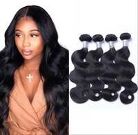 Mongola dei capelli del Virgin Bundles dell'onda del corpo dei capelli umani tesse 4pcs lot / alta qualità non Remy estensioni dei capelli