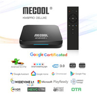 Google Certified KM9 PRO ATV Android 9. 0 Smart TV Box Amlogi...