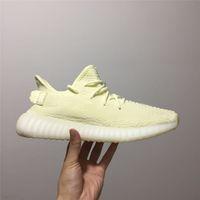 2020 V2 Koşu Ayakkabı Yeni sıcak satış varış Kil Erkekler Gerçek Formu Statik Tasarımcı Ayakkabı beyaz Zebre Hiperuzay Tereyağı eğitmen Kadınlar Sneaker Bred