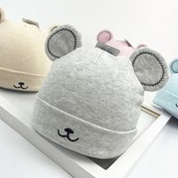 Baby spring Autumn Warm Hat Cartoon Cute Baby Toddler Girl Boy Hat 2018 New Earflap Knitted Beanie Hat Cute Ears Plush Caps