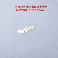 10PCS ! 940nm NBP940 8*8*0.55mm IR Infrared Narrow Bandpass Filter Visible Light Cut Band Pass Glass