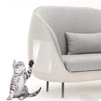 القط الخدش الحرس 2 قطع الأريكة الحرس الحيوانات الأليفة القط خدش حامي الحرس حصيرة القط خدش آخر أثاث أريكة مخلب حامي LXL806-1