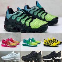 Nike Air Max TN Plus kids running shoes 2020 enfant en bas âge tn respirant 2.0 Rainbow malla Operando enfants Cojín zapatillas Air TNS vierten enfants Cestas