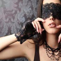 Maskerade-Schablonen venezianischer Spitze Masken schwarze reizvolle Maskerade-Partei-Frauen-Schablonen-Halloween-Abend-Partei-Spitze Augenmaske Requisiten LXL287-A