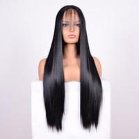 En Kaliteli Düz Adam Saç Peruk Brezilyalı Düz Saç Dantel Ön Peruk Yapıştırıcı Ön Dantel Peruk Ağartma Düğüm