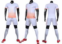 Мужской летний спортивный костюм с тонким охлажденным воротником и быстрым сухим половинным рукавом футболкой и шорты бегущий костюм могут быть настроены на печать