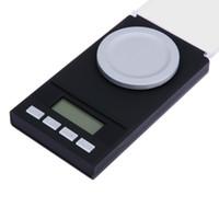 20g / 0.001g 50g / 0.001g LCD Digital Scale 0.001g Bilance Elettroniche Gioielli Medicinali Erba Portatile Mini Lab Peso Milligram Scala 10 PZ