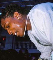 ASAP ROCKY rétro collier de perles naturelles hommes et femmes hip hop chaîne de la clavicule couple tour de cou