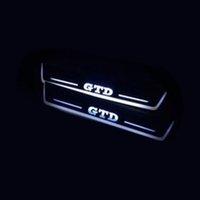 VW Volkswagen Golf 7 Golf 6 GTD Akrilik Hareketli LED Hoşgeldiniz Pedalı Araba İrdudu Plaka Pedalı Kapı Eşiği Yolu Işığı
