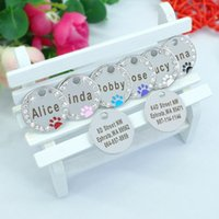 Personalized Dog Tag Custom Pet Puppy Cat ID Tag Dog Collar ...