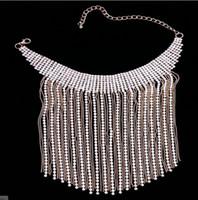 유럽과 미국에서 물 드릴 목 체인 목걸이 항목은 빠른 판매자 핫 스타일의 여자 목걸이 국경 간 전자 상거래 대외 무역 발톱