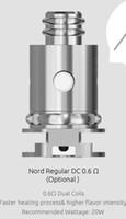 100%本物の喫煙北部NORD NEW定期DC 0.6OHMコイル20Wデュアルの取り替えコイル5 PC
