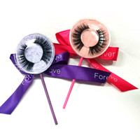 Lollipop Box Top Quality false eyelash 3D strip mink lashes ...