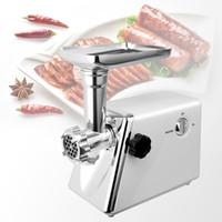 Hachoir à viande électrique 1200W haute puissance en acier inoxydable Accueil électrique hachoir à viande saucisse Stuffer Hachoir Heavy Duty Ménage Mincer Sonifer