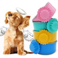 Comedero para mascotas Tazón para perros Acero inoxidable Tazón para colgar jaulas Jaulas para perros Loro Pájaro Bebida para mascotas Tazón de agua Accesorio para plato