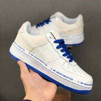 Forced Mens 07 x INTERRUZIONI Skateboarding Shoes Designer sto Bianco Blu Donne James scarpe basse 1 Dunk uno Sport Sneakers Chaussures esecuzione