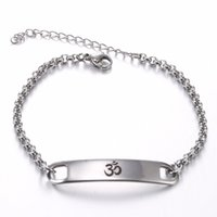 Wholesale 12pcs LOT COOL Yoga India AUM OM Ohm Hinduism 316L...