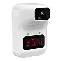 Berührungslos Infrarot-Thermometer K3 Stirn-Temperatur-Messgerät mit Digital-LCD-Display mit Ständern