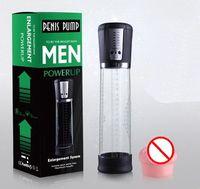 2020 Hot pompe à pénis élargissement Pompe à vide pénis Extender Man Sex Toys agrandisseur Extension adulte outils d'échappement de la chatte du sein