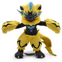 Hot Sale 10. 5inch 27cm Zeraora Pikachu Plush Stuffed Doll To...
