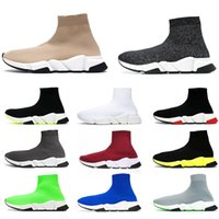 balenciaga speed trainer socks shoes Tripler Black schuhe luxus designer damen freizeitschuhe glitter étoile marke sneakers socken stiefel läufer herren sockenschuhe