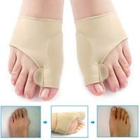 Soft Bunion Protector Punta Straightener Foot Trattamento Silicone Toes Separatore Correttore Thumb Piew Piedi Assistenza Regolatore Hallux Valgus Libera nave