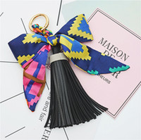 bag charm Fashion Hot Sale Scarves Key holder Bowknot Exquis...
