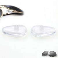 슈퍼 스티커는 DHL 무료 백업과 미끄럼 방지 접착제 인체 공학적 부드러운 실리콘 안경 코 패드