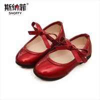 2018 spring and autumn new children' s shoes solid color...