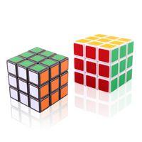 10 шт. Professional Cube Classic 5.6см скорость для волшебного куба антистрессовая головоломка Neo Cubo Magico наклейка для детей взрослых детей игрушек